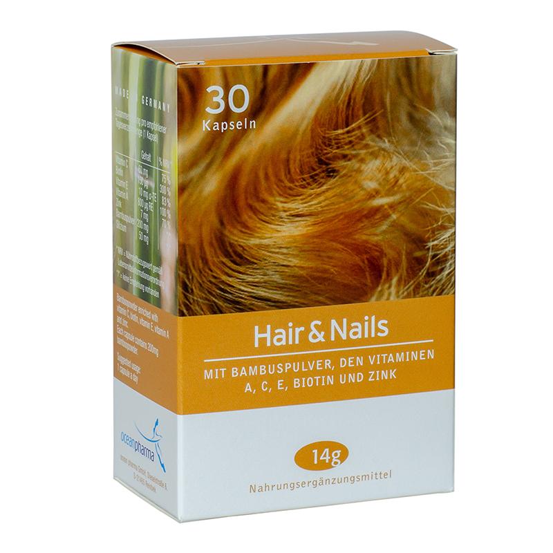 <strong>Witaminy i minerały dla włosów i paznokci 30 kapsułek</strong> Hair&Nails