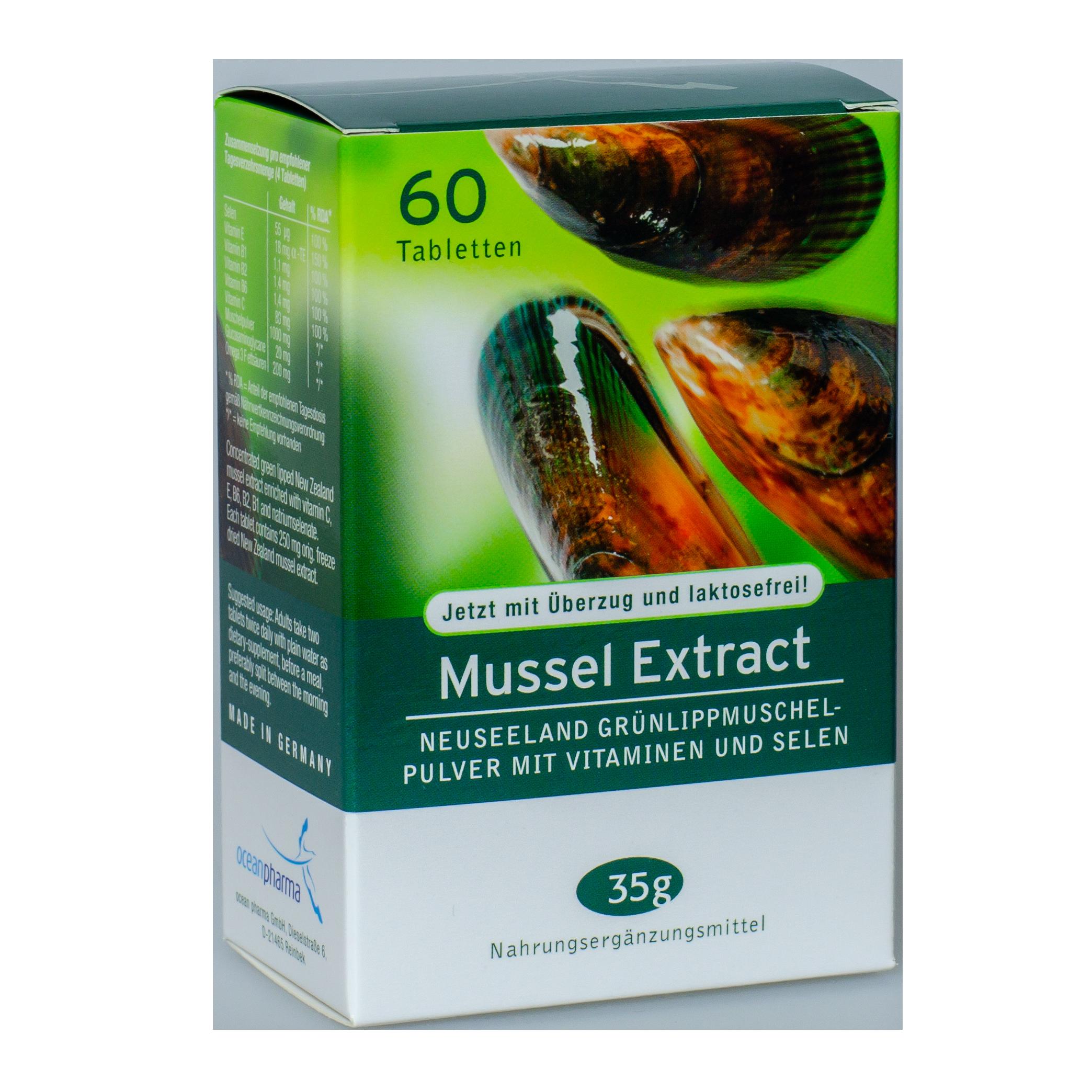 <strong>Ekstrakt z nowozelandzkiej małży zielonej 60 kapsułek</strong> Mussel Extract